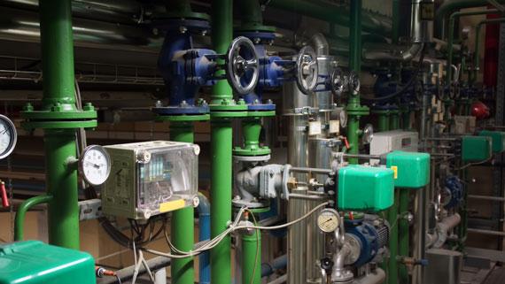 Impianti ad acqua surriscaldata